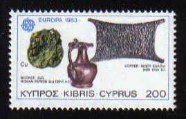 Cyprus Stamps SG 603 1983 200 Mils - Mint