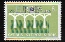 Cyprus Stamps SG 632 1984 6 Cents - Mint