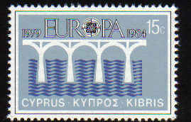 Cyprus Stamps SG 633 1984 15 Cents - Mint