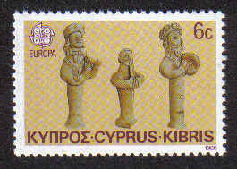 Cyprus Stamps SG 663 1985 6 Cents - Mint