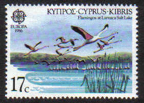 Cyprus Stamps SG 679 1986 17 Cents - MINT