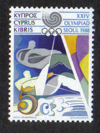Cyprus Stamps SG 722 1988 5 Cents - Mint