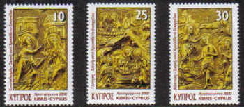 Cyprus Stamps SG 1009-11 2000 Christmas - MINT