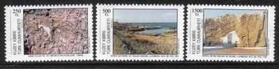 North Cyprus Stamps SG 325-27 1991 Tourism 1st Series - MINT