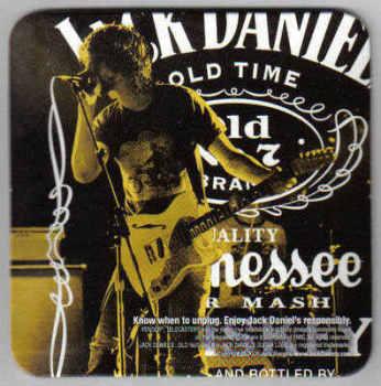USA Beermats Jack Daniels Tennessee Whiskey - UNUSED (b484)