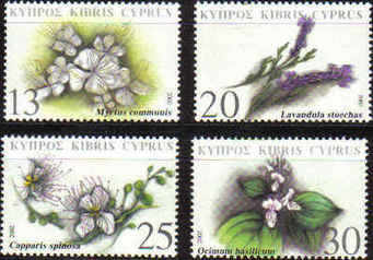 Cyprus Stamps SG 1031-34 2002 Medicinal Plants - MINT