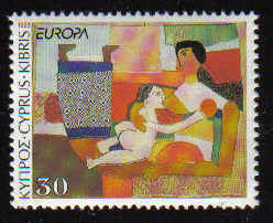 Cyprus Stamps SG 832 1993 30c - MINT