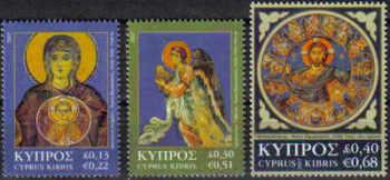 Cyprus Stamps SG 1153-55 2007 Christmas - MINT