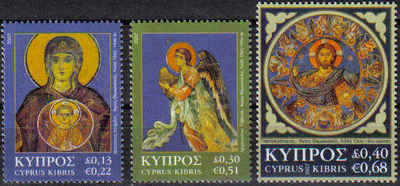 Cyprus Stamps SG 1153-55 2007 Christmas - MINT