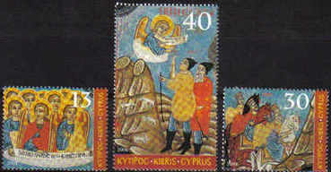 Cyprus Stamps SG 1085-87 2004 Christmas - MINT