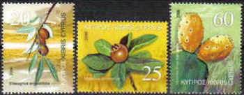 Cyprus Stamps SG 1112-14 2006 Fruits - MINT