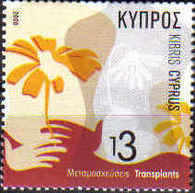 Cyprus Stamps SG 1115 2006 Transplants - MINT