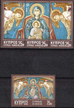 Cyprus Stamps SG 354-57 1970 Christmas - MINT