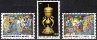 Cyprus Stamps SG 595-97 1982 Christmas - MINT