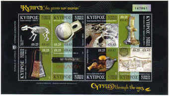Cyprus Stamps SG 1137-44 2007 Cyprus through the ages - Part 1 MINT