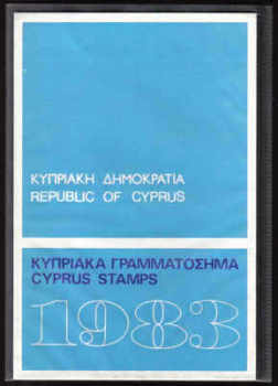 CYPRUS STAMPS 1983 Year Pack - Commemorative Issues