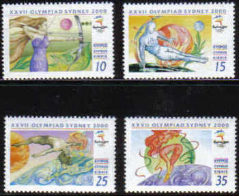 Cyprus Stamps SG 1005-08 2000 Sydney Olympic Games - MINT
