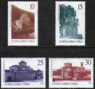 Cyprus Stamps SG 1000-03 2000 Greek Orthodox Churches - MINT