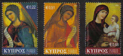 Cyprus Stamps SG 1178-80 2008 Christmas - MINT