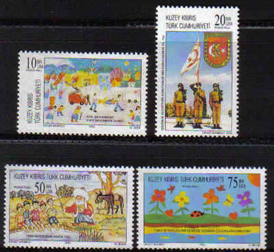 North Cyprus Stamps SG 432-35 1996 Anniversaries and Events - MINT