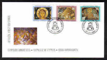 Cyprus Stamps SG 860-62 1994 Christmas - Official FDC