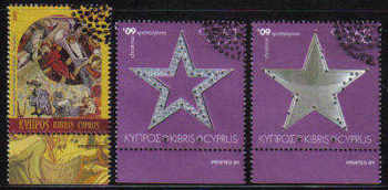 Cyprus Stamps SG 1207-09 2009 Christmas - USED (c756)