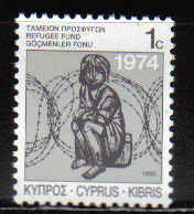 Cyprus Stamps 1990 Refugee Fund Tax SG 747 - MINT