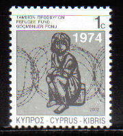 Cyprus Stamps 2002 Refugee Fund Tax SG 807 - MINT