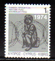 Cyprus Stamps 2005 Refugee Fund Tax SG 807  - MINT