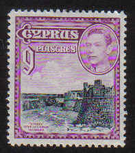 Cyprus Stamps SG 159 1938 9 Piastres - MLH