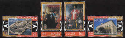 MALTA STAMPS SG 1094-97 1999 900th Anniversary of the Sovereign Military Or