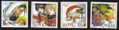 MALTA STAMPS SG 1152-55 1999 Christmas Issue - MINT
