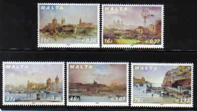 MALTA STAMPS SG 1563-67 2007 Maltese scenery - mint