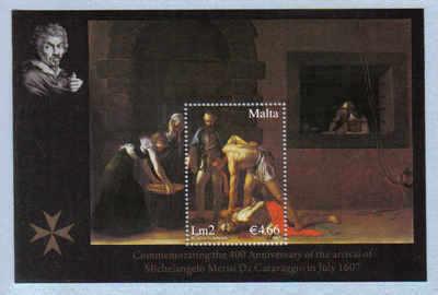 MALTA STAMPS SG 1552 MS 2007  St John the baptist - mint