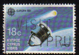 Cyprus Stamps SG 799 1991 18c - Used (b370)