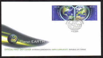 Cyprus Stamps SG 1186-87 2009 Planet Earth - Official FDC (a802)
