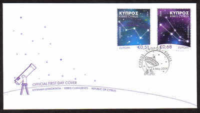 Cyprus Stamps SG 1188-89 2009 Europa Astronomy - Official FDC (a803)