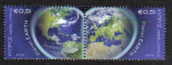 Cyprus Stamps SG 1186-87 2009 Planet Earth - MINT