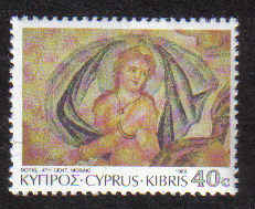 CYPRUS STAMPS SG 767 1989 40c - MINT