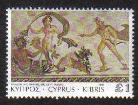 CYPRUS STAMPS SG 769 1989 £1 - MINT