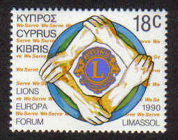 CYPRUS STAMPS SG 773 1990 18c - MINT