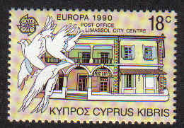 CYPRUS STAMPS SG 775 1990 18c - MINT