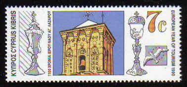 CYPRUS STAMPS SG 777 1990 7c - MINT