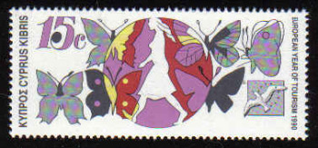 CYPRUS STAMPS SG 778 1990 15c - MINT