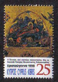 CYPRUS STAMPS SG 962 1998 25c - MINT