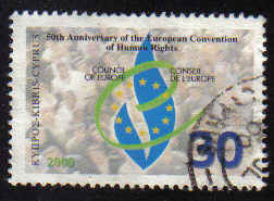 Cyprus Stamps SG 1004 2000 50th Anniversary of Human Rights - Used (b410)