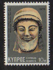 Cyprus Stamps SG 460 1976 10 Mils - Mint
