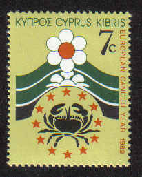 Cyprus Stamps SG 754 1989 7c - Mint