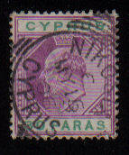Cyprus Stamps SG 063 1904 30 Paras - USED (a956)