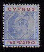 Cyprus Stamps SG 065 1904 Two Piastres - Mint (a958)